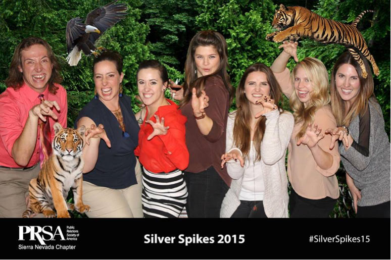 Bauserwoman at the Silver Spikes Awards