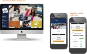 Ski Apache Website Design